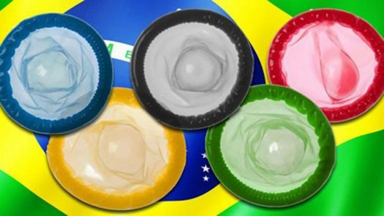 Lluvia de preservativos para los deportistas olímpicos