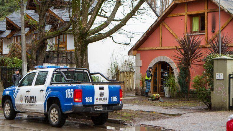 La Policía trabajó durante varias horas en la casa de Rivadavia al 900