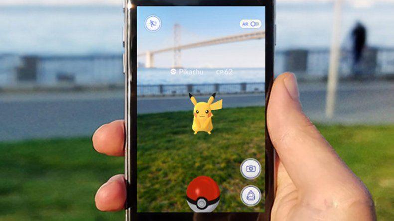 Pokémon Go llegó al país, pero sólo funciona en la Patagonia