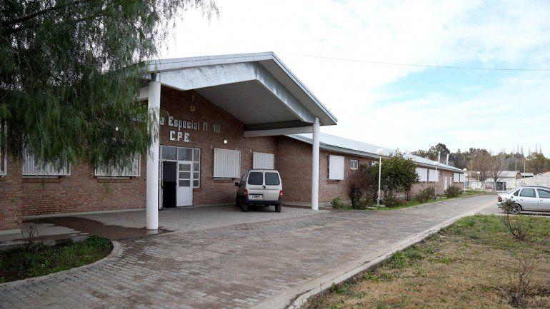 La escuela especial de Centenario fue blanco de los ladrones.