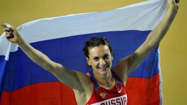 La garrochista Yelena Isinbayeva