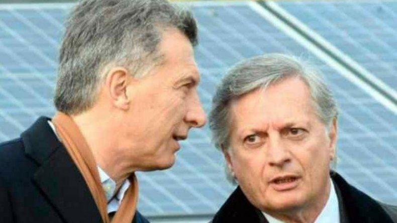Macri respaldó a Aranguren: Hubo un modelo energético equivocado