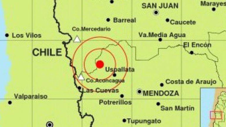 Un sismo sacudió a Mendoza: no hubo víctimas fatales
