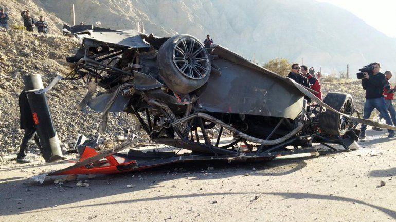 Espectacular accidente en el Top Race V6 en el Zonda de San Juan