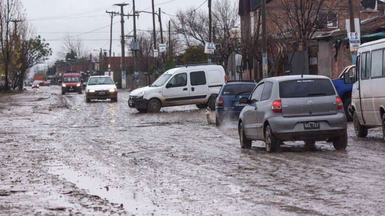 El Municipio asistió a ocho familias por la lluvia