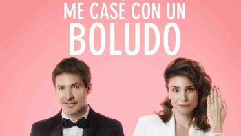 Después de Un novio para mi mujer, Adrián Suar y Valeria Bertucelli volvieron a conquistar al público nacional en Me casé con un boludo.