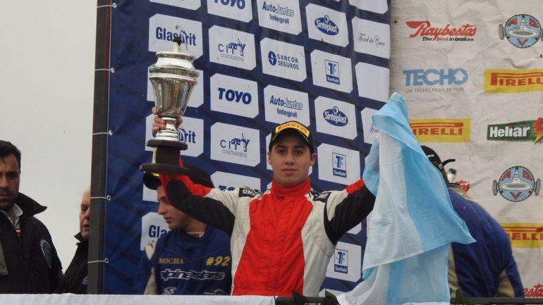 Un podio más para Mendaña en la Fórmula 4 Sudamericana.