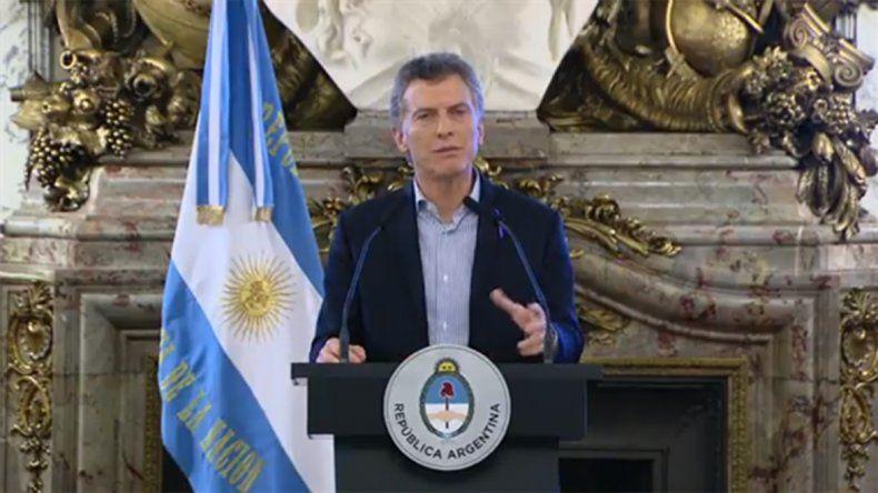 Macri: Gobernar para mí es decir la verdad