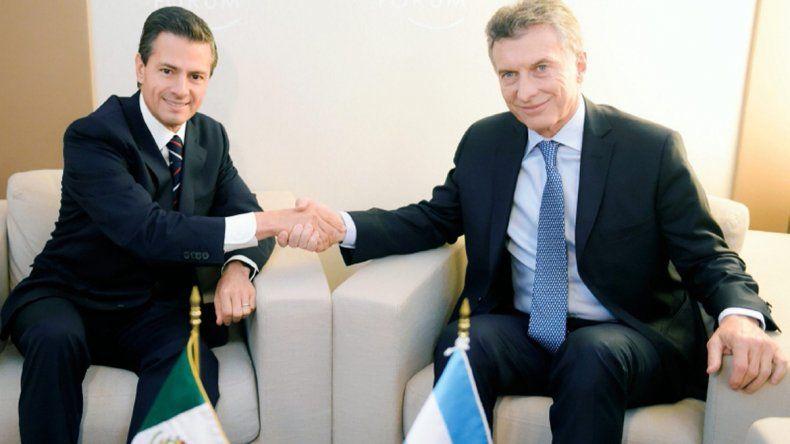 Macri se reúne hoy con el presidente de México
