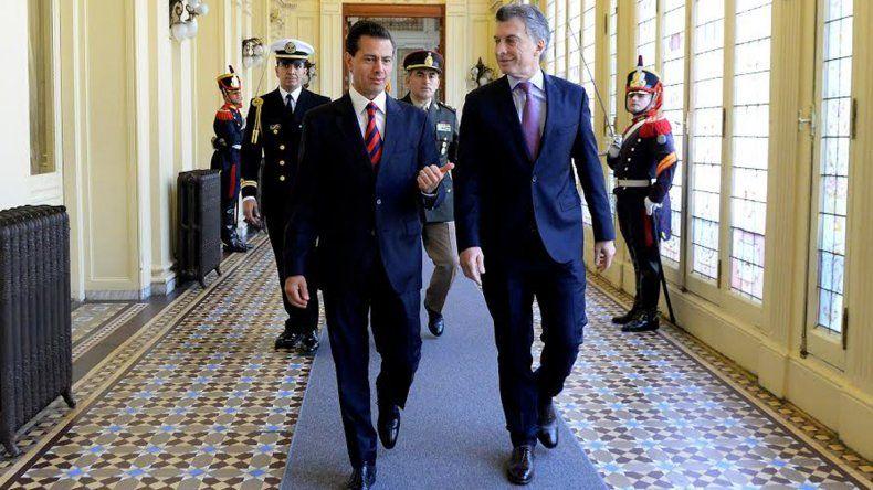 Macri anunció una nueva etapa en la relación con México