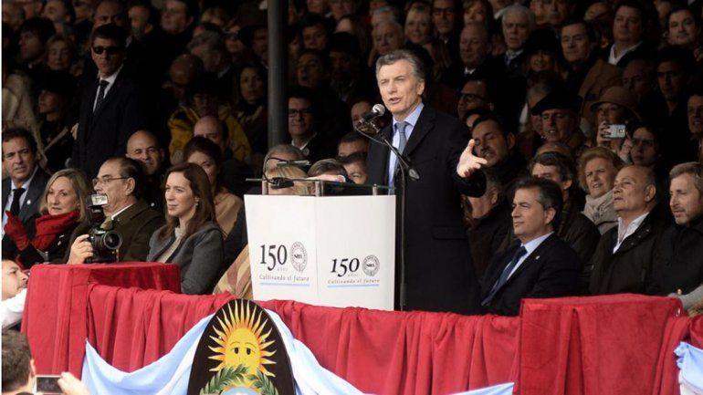 Macri dio por terminada la pelea entre el Gobierno y el campo
