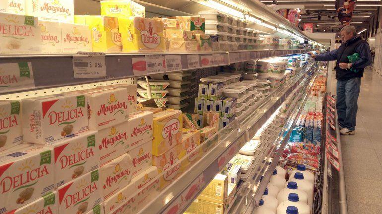 Artículos de limpieza y lácteos lideran aumentos