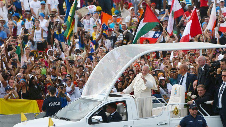 El Papa usó un lenguaje simple ante 2