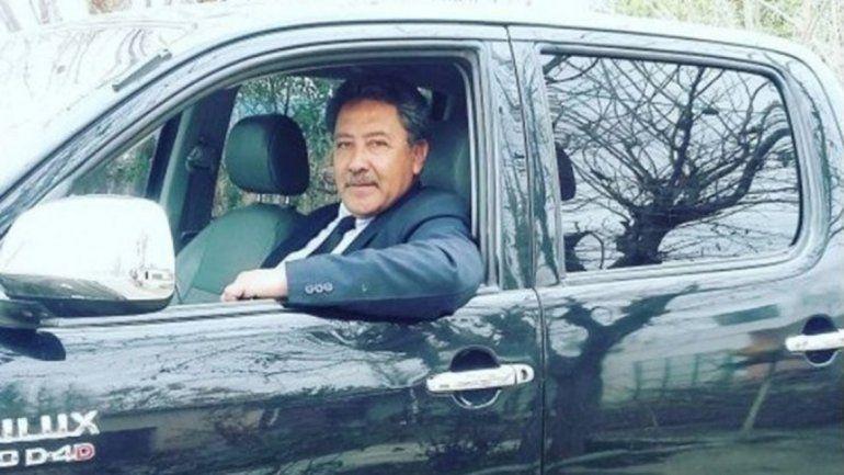 Mario Bustos conducía una camioneta Toyota. Le salió mal el chiste.