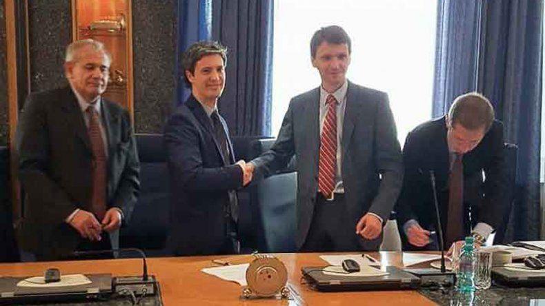 Avances. Funcionarios nacionales y Gutiérrez ya estuvieron en Rusia.