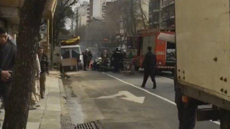Tres heridos graves por un escape de gas