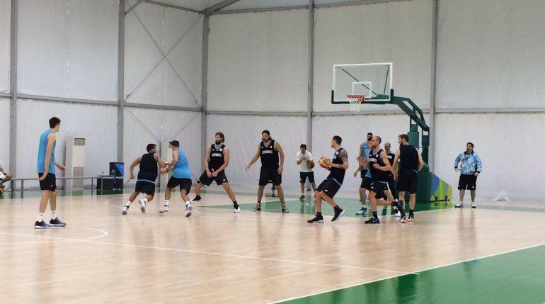 La Selección realizó sus primeros movimientos en Río.