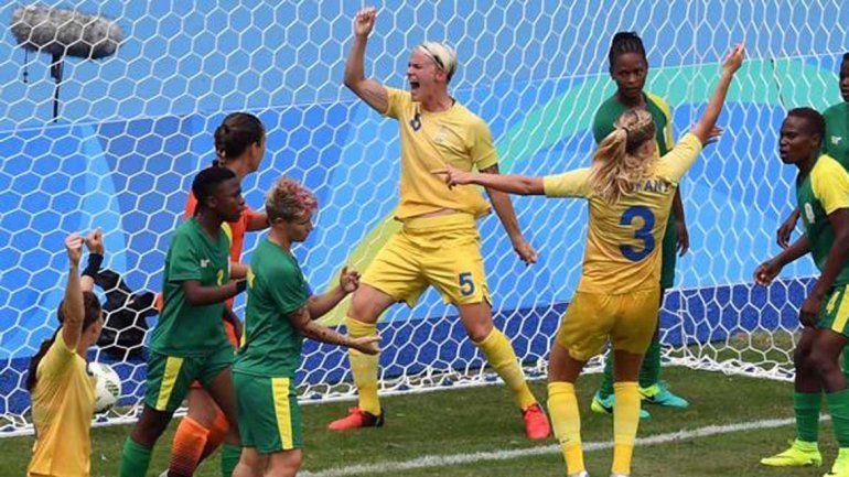 El fútbol femenino marcó el inicio de Río 2016