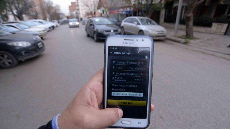 La aplicación es gratis y promete reducir al máximo la espera de taxi.