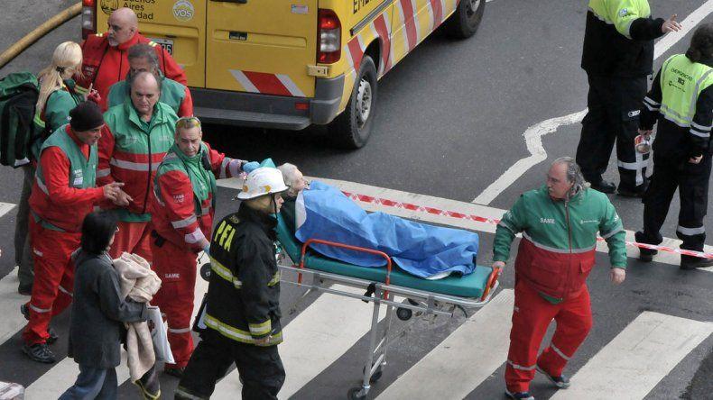 Eran tres los operarios que trabajaban en el lugar. Dos sobrevivieron.