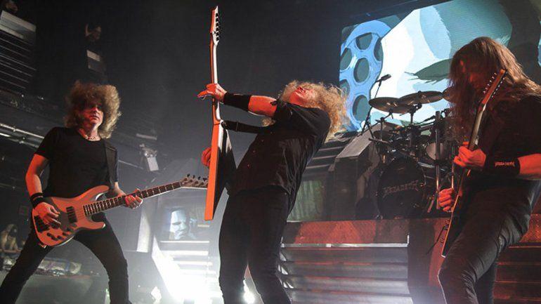 Megadeth.