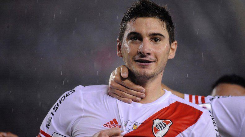 El mánager de River quiere retener al delantero ex Colón.