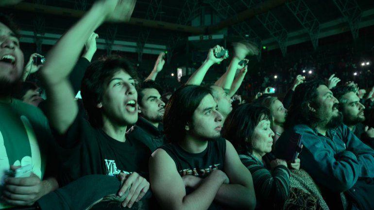 Los fanáticos no pararon de demostrarle a Dave Mustaine el lugar que ocupa en el podio de los máximos referentes del género.