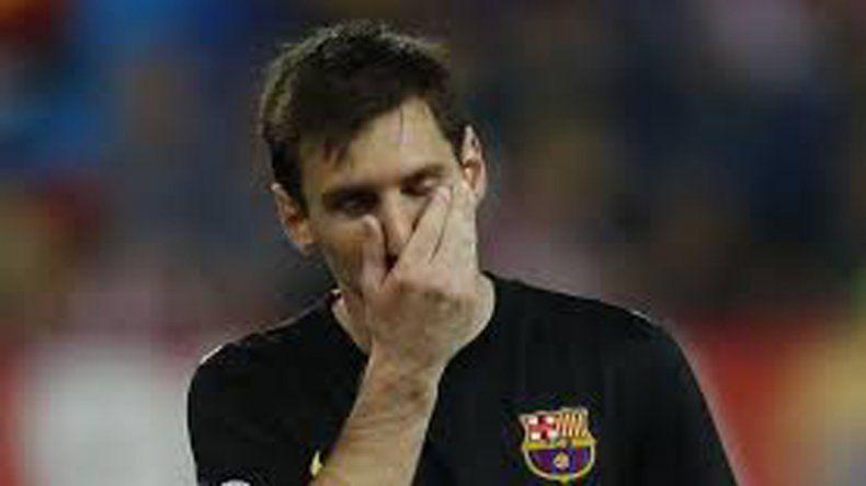Messi no será candidato a mejor jugador de Europa