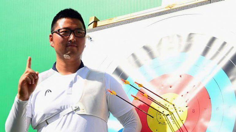 Un coreano en tiro con arco, primer récord mundial
