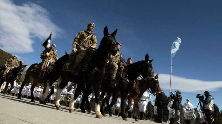 Covunco rinde hoy homenajes con mil soldados del país