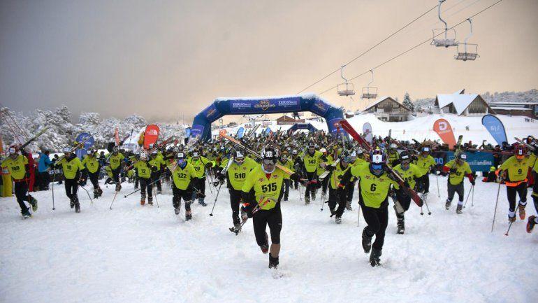 Con más de 400 competidores, largó el Tetra de Chapelco