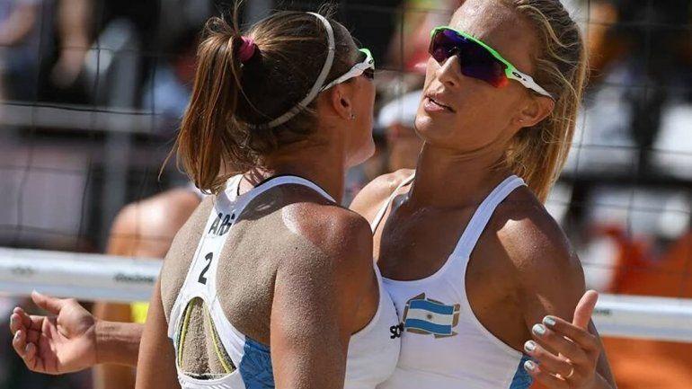 Derrota en el beach volley femenino ante España