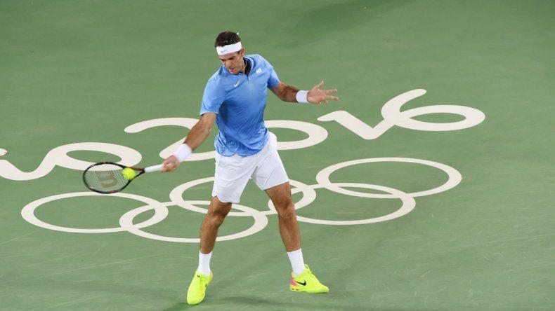 Delpo le ganó a Djokovic. (Foto Sergio Dovio)
