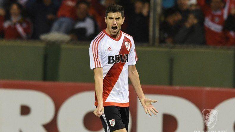 El juvenil Tomás Andrade debutó como titular con la camiseta de River.
