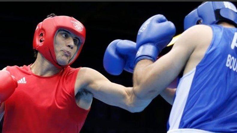 Yamil Peralta le da al boxeo el primer triunfo