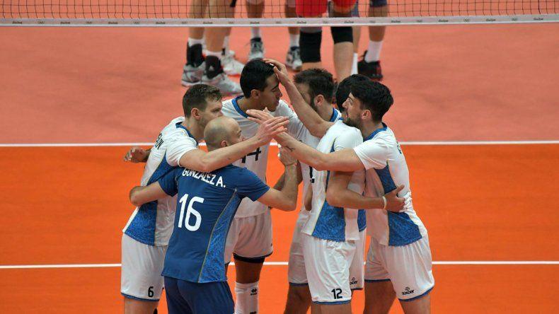 Argentina derrotó por 3 a 1 a Rusia.