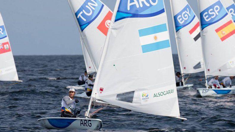 Alsogaray ganó en la regata y quedó primero en la tabla general