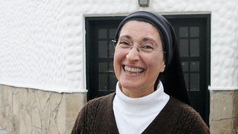 Mónica Astorga es del monasterio de Carmelitas Descalzas de Centenario.