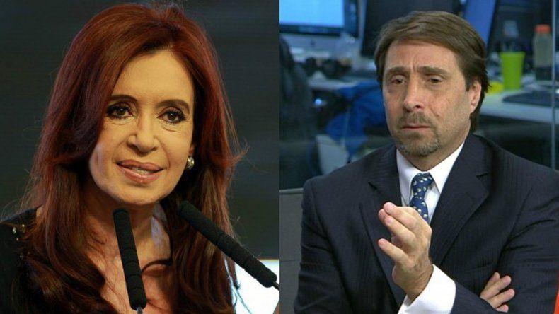 Cristina y el periodista Eduardo Feinmann irán a juicio