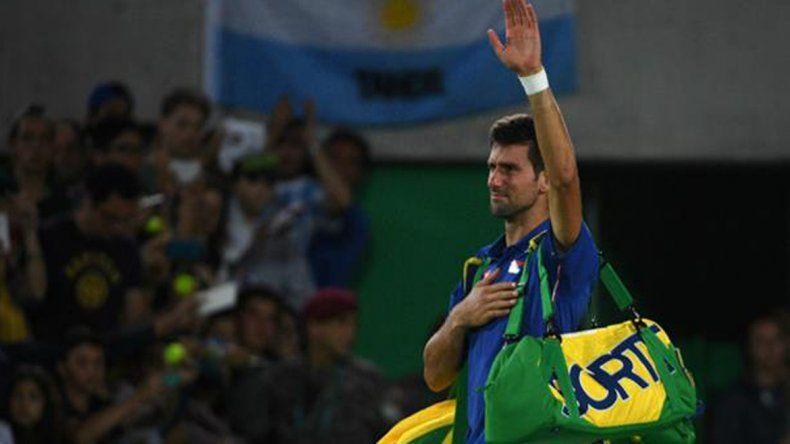Djokovic se lesionó la muñeca izquierda y se baja del Masters de Cincinnati