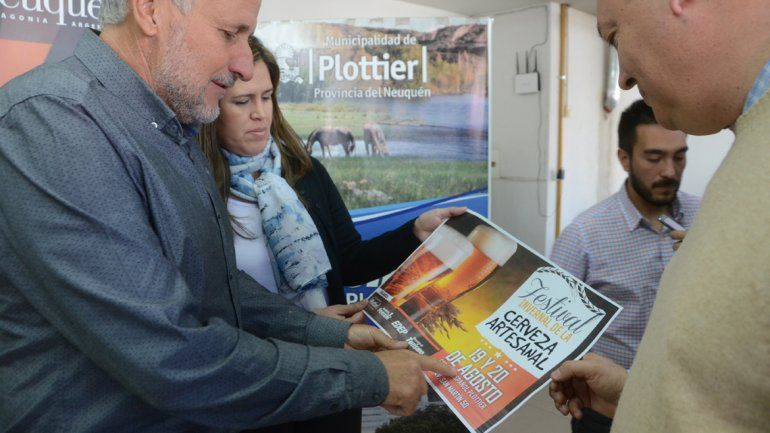 Plottier se prepara para el Segundo Festival de la Cerveza