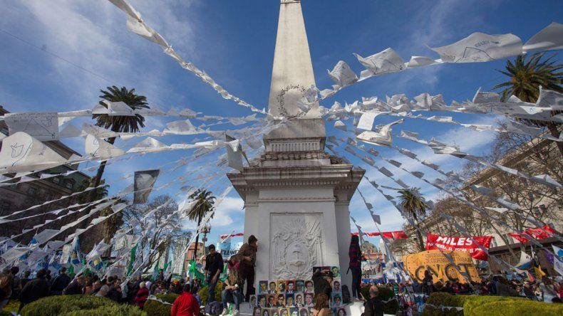 La titular de Madres de Plaza de Mayo también recibió a Cristina.
