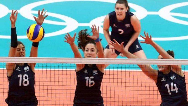 El voley femenino ganó su primer partido en un juego olímpico