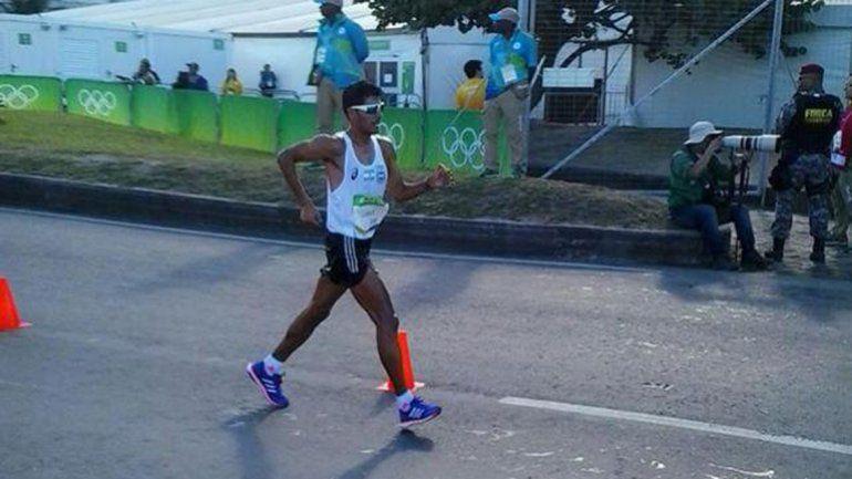 Juan Manuel Cano culminó 51° en la marcha