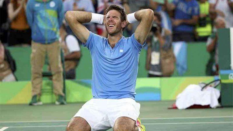 Del Potro sorprendió y ya aseguró medalla.