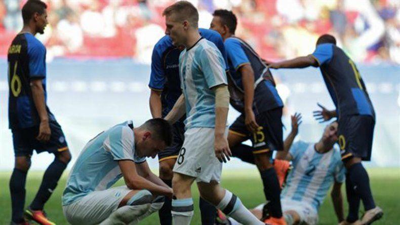 El fútbol fue una lágrima y marchó rápido.