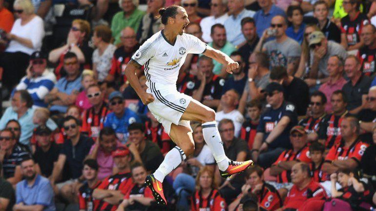 El United de Mourinho debutó con triunfo ante el Bornemouth