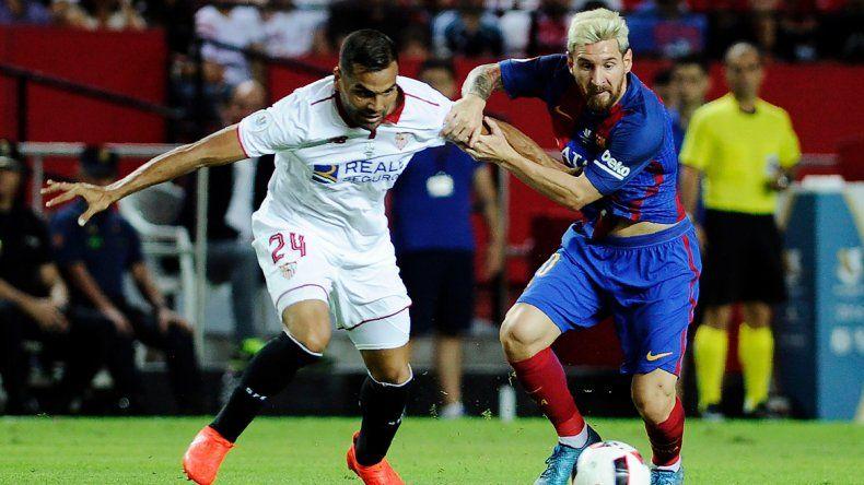 Barcelona le ganó 2 a 0 a Sevilla y se acerca a la Supercopa