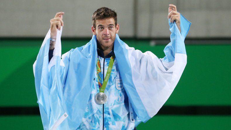 Juan Martín Del Potro perdió la final del tenis de los Juegos Olímpicos de Río de Janeiro 2016 ante el británico Andy Murray por 7-5