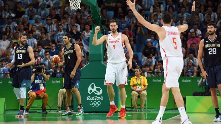 Argentina perdió con España y le puede tocar Estados Unidos